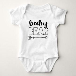 Body Para Bebé Oso del bebé con la flecha