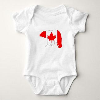 """Body Para Bebé Oso polar """"Canadá """""""