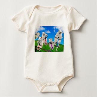Body Para Bebé Ovejas de salto