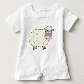Body Para Bebé Ovejas lindas