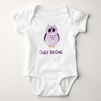 Body Para Bebé Owly el búho - mono del bebé