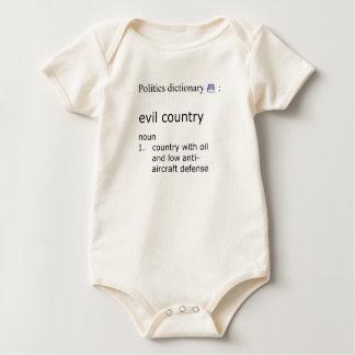 Body Para Bebé País malvado
