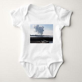 Body Para Bebé Paisaje industrial a lo largo de la costa