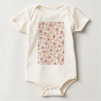 Body Para Bebé Pajaritos y Jaulas