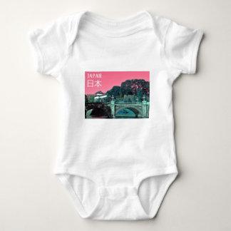 Body Para Bebé Palacio imperial en Tokio, Japón