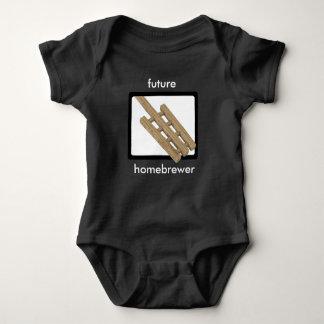 Body Para Bebé Paleta del puré - Homebrewer futuro