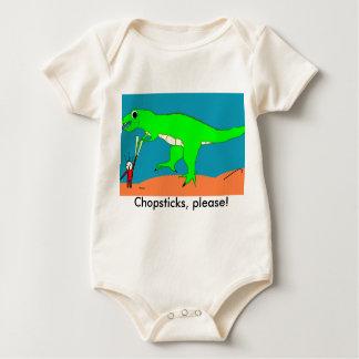Body Para Bebé ¡Palillos, por favor!