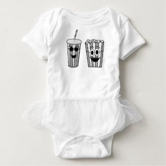 Body Para Bebé palomitas y soda