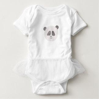 Body Para Bebé Panda de la belleza