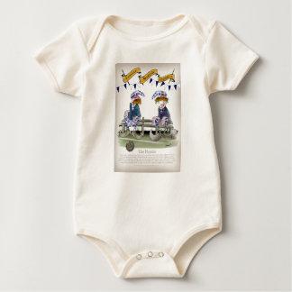 Body Para Bebé pandit escoceses del fútbol