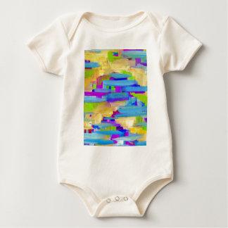Body Para Bebé Pantano abstracto