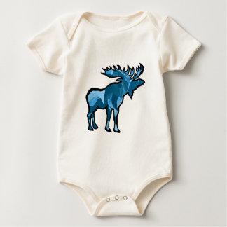 Body Para Bebé Pantano azul
