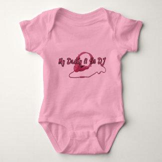 Body Para Bebé Papá DJ para los chicas
