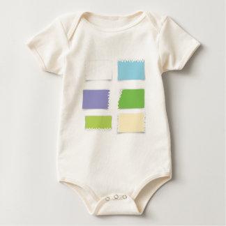 Body Para Bebé papel viejo