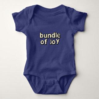 Body Para Bebé Paquete de mono del bebé de la alegría