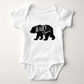Body Para Bebé Paquete del oso del bebé