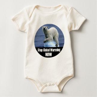 Body Para Bebé Pare el calentamiento del planeta ahora