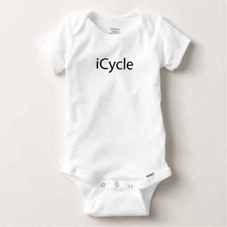 Body Para Bebé Parodia Icycle de ciclo divertido fresco de Iphone