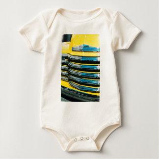 Body Para Bebé Parrilla amarilla