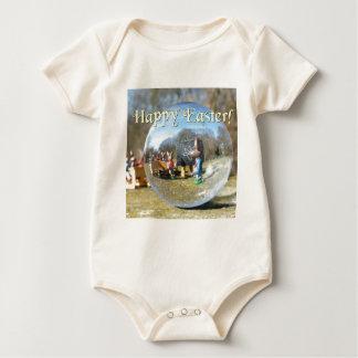 Body Para Bebé ¡Pascua feliz! Escuela 02.0.T del conejito de
