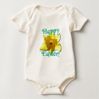 Body Para Bebé Pascua feliz, narciso 01.2.T