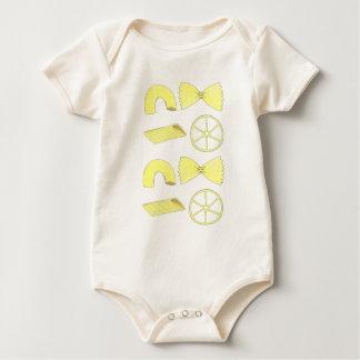 Body Para Bebé Pastas italianas Foodie de Penne Bowtie de los