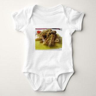 Body Para Bebé Pastas tradicionales de Paccheri del italiano con