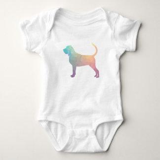 Body Para Bebé Pastel colorido de la silueta del modelo de Geo