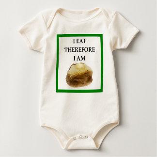 Body Para Bebé patata cocida