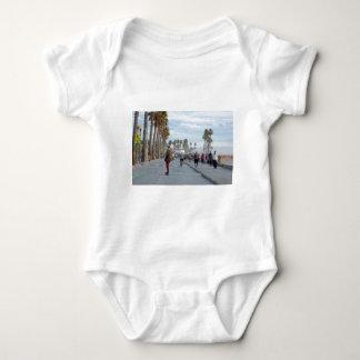 Body Para Bebé patinaje a la playa de Venecia
