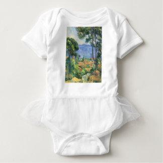 Body Para Bebé Paul Cezanne - vista del d'If de L'Estaque y de