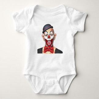 Body Para Bebé Payaso del asesino que mira al frente