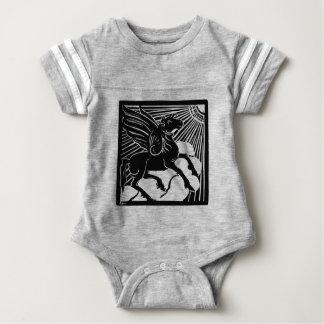 Body Para Bebé Pegaso feliz