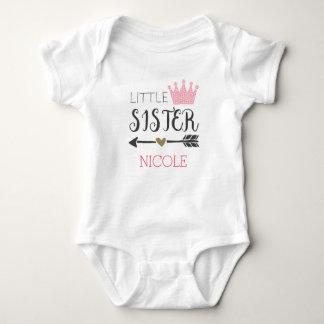 Body Para Bebé Pequeña hermana personalizada