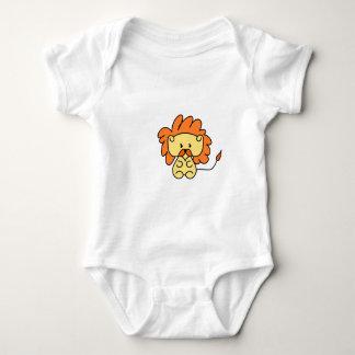 Body Para Bebé Pequeño diseño del león