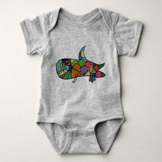 Body Para Bebé Pequeño tiburón - siga su sueño