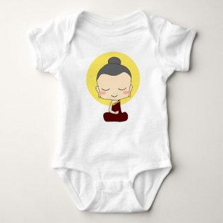 Body Para Bebé Pequeño un estilo de Buda del zen