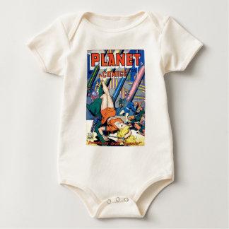 Body Para Bebé Pequeños hombres asustadizos