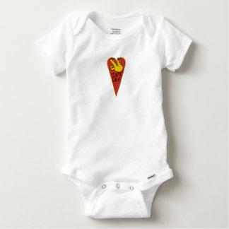 Body Para Bebé Pereza del amor