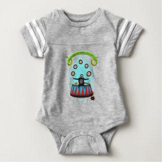 Body Para Bebé pereza que hace juegos malabares del erizo