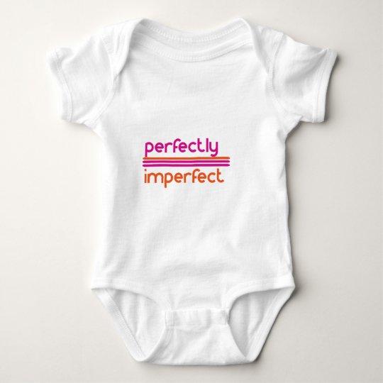 Body Para Bebé Perfectamente imperfecto brillante