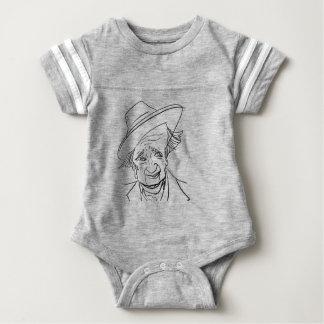 Body Para Bebé Pernos prisioneros Terkel