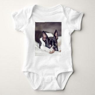 Body Para Bebé Perrito de Boston Terrier