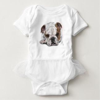 Body Para Bebé Perrito del dogo
