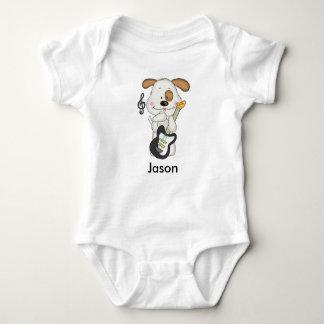 Body Para Bebé Perrito del rock-and-roll de Jason