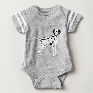 Body Para Bebé Perro de Dalmation