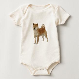Body Para Bebé Perro de Shiba Inu