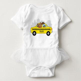 Body Para Bebé Perro del taxi de Nueva York