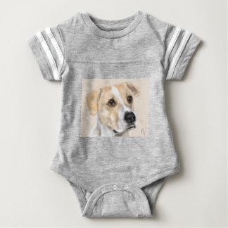 Body Para Bebé Perro dulce de la cara