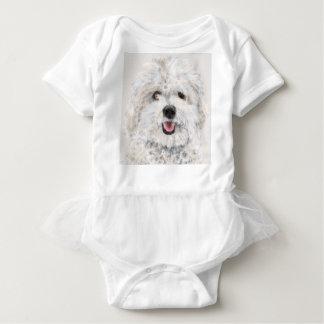 Body Para Bebé Perro sonriente